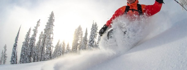 The Magic of a Powder Day in a Ski Town